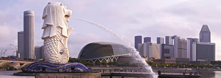 Singapur - Merlion