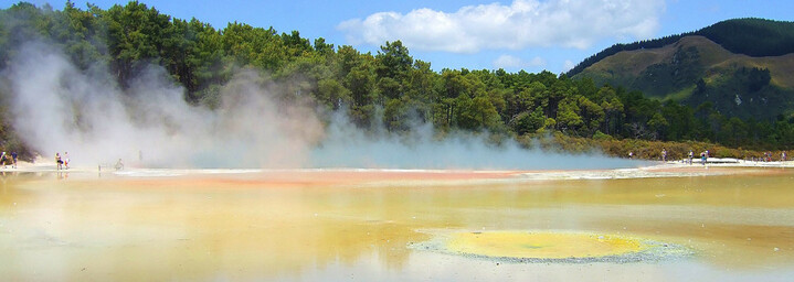Wai-O-Tapu Thermalgebiet