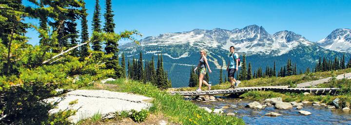 Wanderer in Whistler