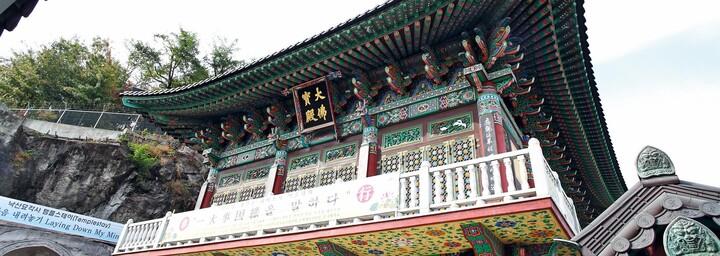 Tempel in Seoul
