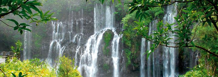 Wasserfall auf La `Réunion