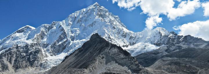 Mount Everest im Himalaya