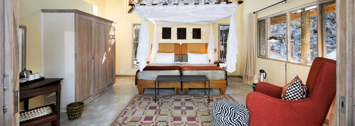 Ongava Lodge Etosha Nationalpark Zimmerbeispiel