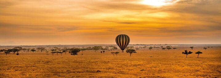 Ballonfahrt Serengeti