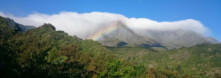 La Réunion Reisebericht: Blick auf die Berge bei Hell-Bourg
