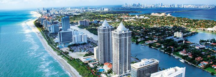 Miami's Küste - Miami Beach