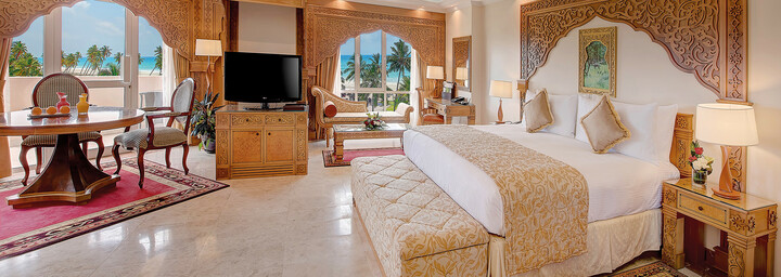Junior-Suite-Beispiel des Crowne Plaza Salalah