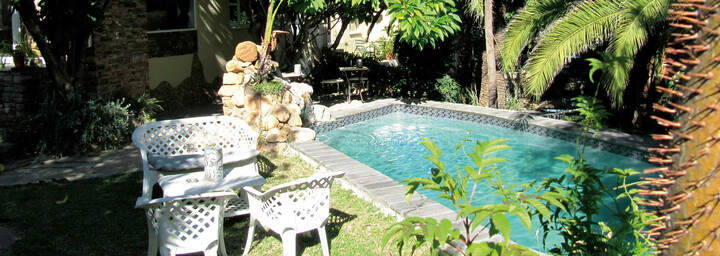 Pool des Terra Africa Guesthouse