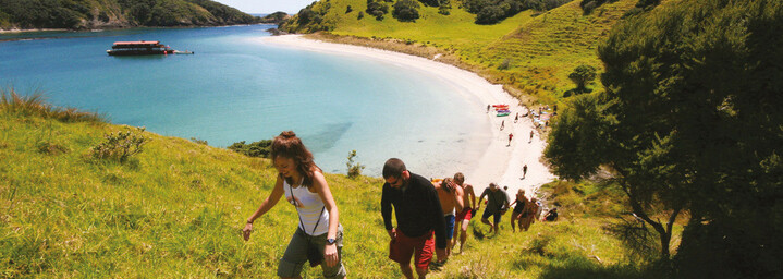 Wanderung Bay of Islands Nordinsel Neuseeland