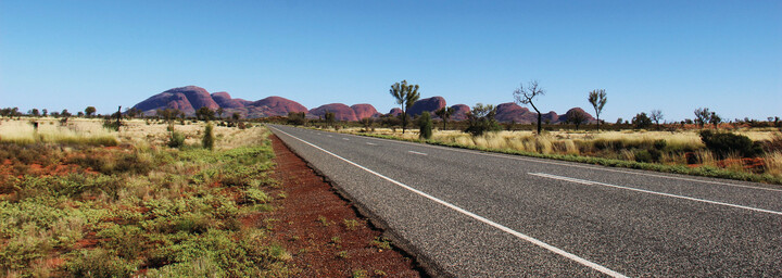 Road to Kata Tjuta