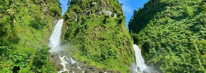 Wasserfall auf Dominica