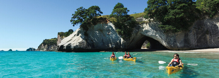 Coromandel Halbinsel - Cathedral Cove