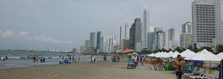 Cartagena Strand in Kolumbien