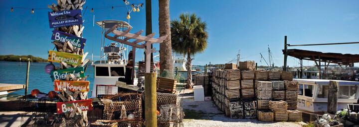 Cortez Fishing Village Florida
