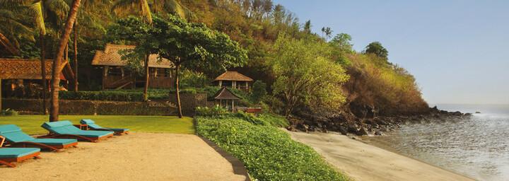 Jeeva Klui Resort Lombok - Strand
