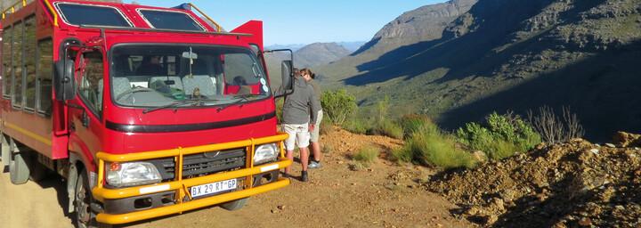 Safari Truck in Cederberg Mountains