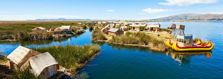 Titicacasee in Peru und Bolivien