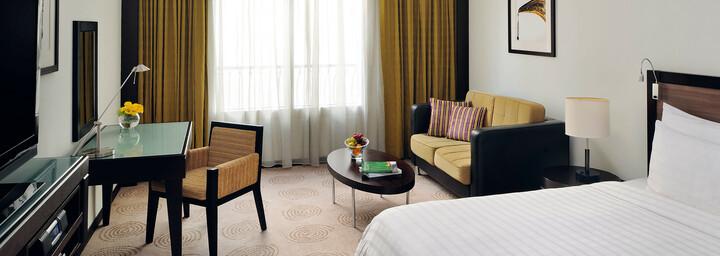 Zimmerbeispiel des Avani Deira Dubai Hotel