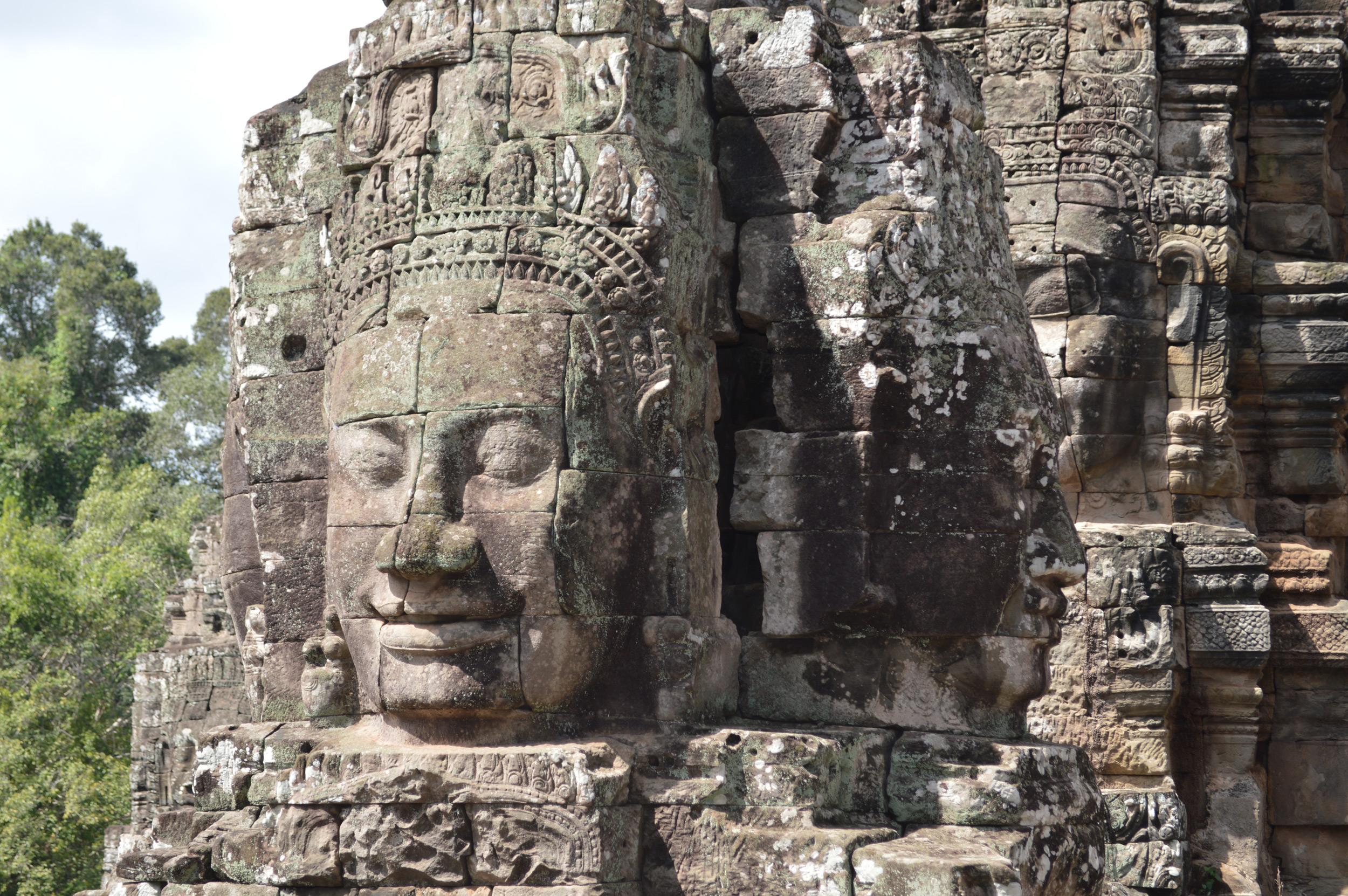 Bayon Tempel - Gesichtsturm