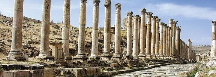 Säulenstraße Cardo Maximus in Jerash