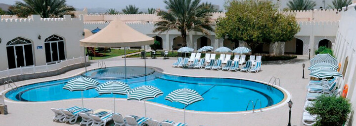 Pool des Falaj Daris Hotel Nizwa