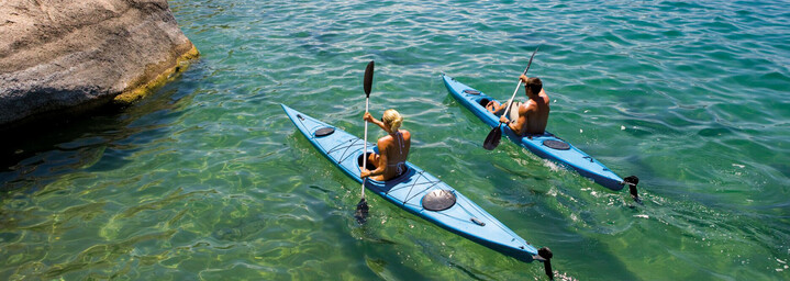 Lake Malawi Kajakfahrer