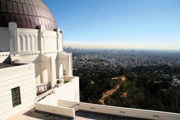 Ausblick vom Griffith Observatory
