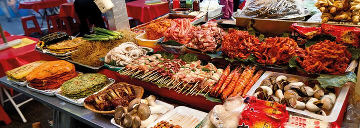 Markt in Seoul