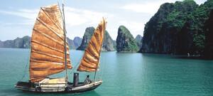 Boot Halong Bucht