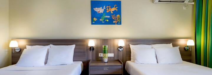 LionsDive Beach Resort Beispiel Standard Zimmer
