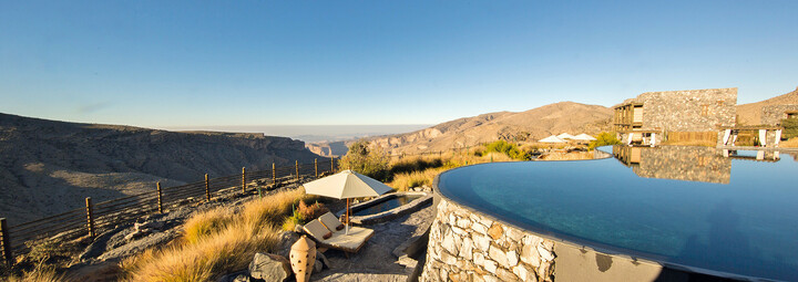 Pool des Alila Jabal Akhdar