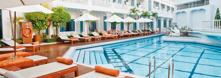 Pool Adaman Seaview Hotel Phuket