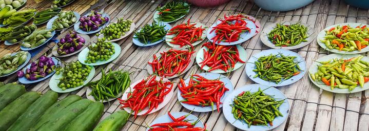 Zutaten der Thailändischen Küche