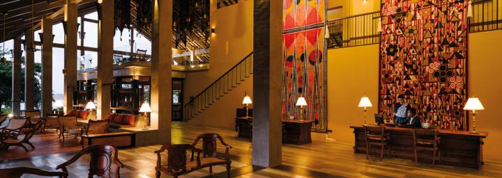 Lobby des Anantara Kalutara Resort
