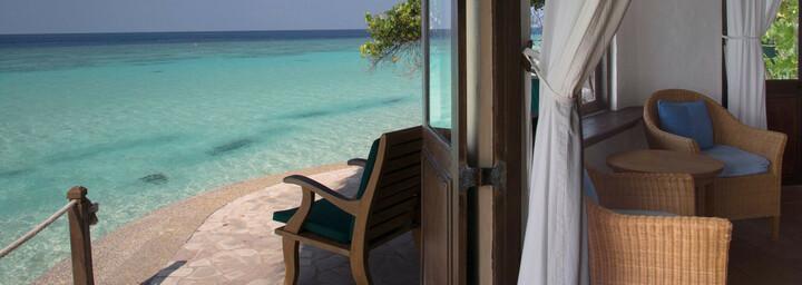 Blick aus Ocean Front Villa