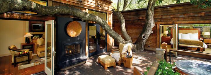 Oak Creek Lodge der Calistoga Ranch