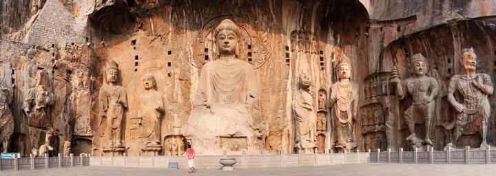 Luoyang Longmen Grotten China