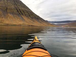 Kajaktour in Ísafjörður