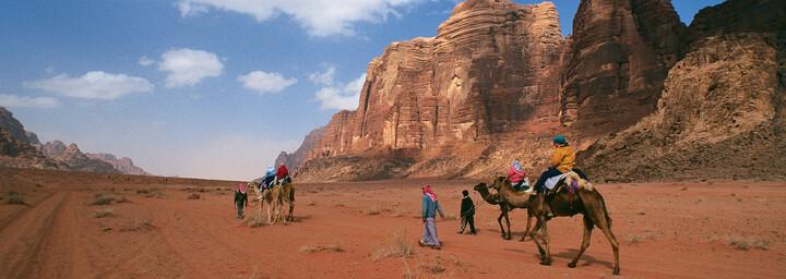 Wadi Rum, Wüstenlandschaft Jordaniens