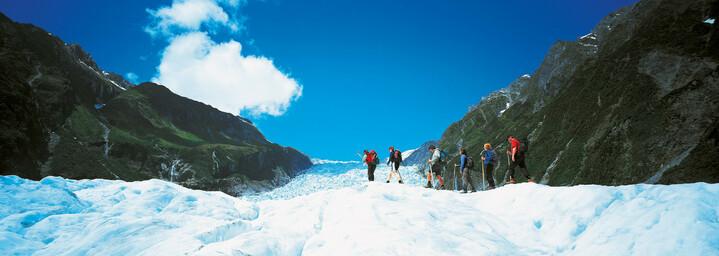 Franz-Josef Gletscher Wanderer