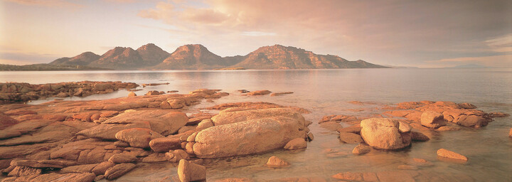The Hazards im Freycinet Nationalpark