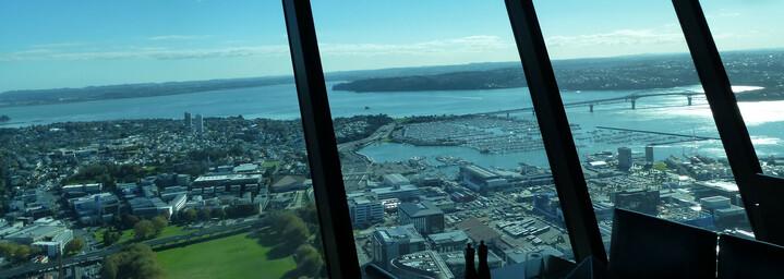 Reisebericht Neuseeland - Aussicht vom Sky Tower