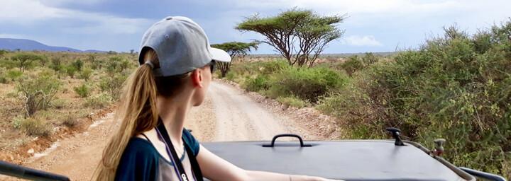 Kenia Reisebericht - Reiseexpertin Franziska auf Safari