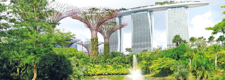 Marina Bay Sands und Garden by the Bay