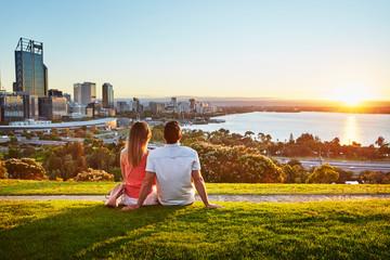 Blick auf Perth - Kings Park & Botanischer Garten
