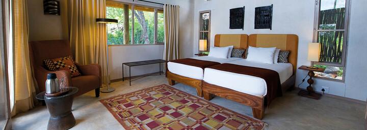 Zimmerbeispiel der Ongava Lodge