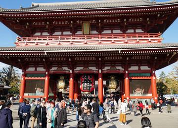 Tempel in Asakusa - Tokyo