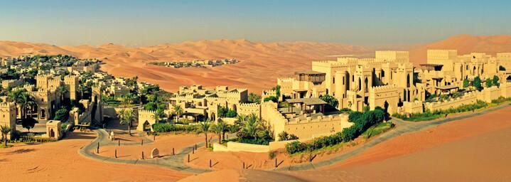 Außenansicht & Wüste Qasr Al Sarab Desert Resort by Anantara Liwa-Wüste