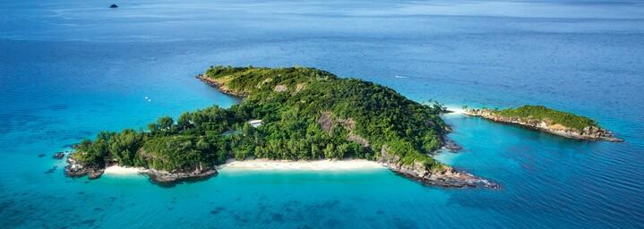 Blick auf die Insel, Constance Tsarabanjina Madagascar, Tsarabanjina