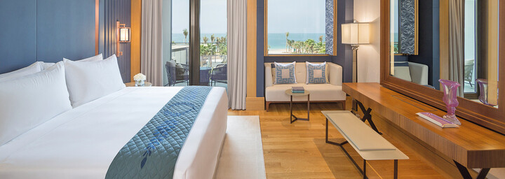 Beispiel Deluxe-Zimmer - Caesars Resort Bluewaters Dubai